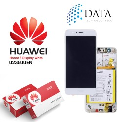 Huawei Honor 8 (FRD-L09, FRD-L19) -LCD Display + Touch Screen + Battery White 02350UEN
