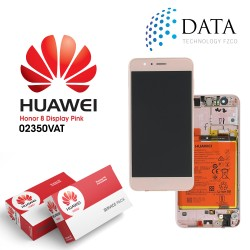 Huawei Honor 8 (FRD-L09, FRD-L19) -LCD Display + Touch Screen + Battery Pink 02350VAT
