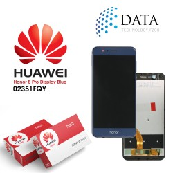 Huawei Honor 8 Pro, Honor V9 (DUK-L09) -LCD Display + Touch Screen Blue 02351FQY