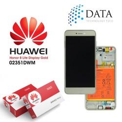 Huawei Honor 8 Lite -LCD Display + Touch Screen + Battery Gold 02351DWM