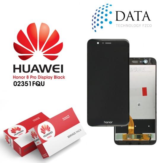 Huawei Honor 8 Pro, Honor V9 (DUK-L09) -LCD Display + Touch Screen Black 02351FQU
