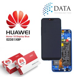 Huawei Honor 10 -LCD Display + Touch Screen + Battery Assembly - Blue - 02351XBP