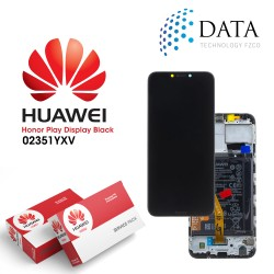 Huawei Honor Play (COR-L29) -LCD Display + Touch Screen + Battery Midnight Black 02351YXV