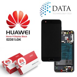 Huawei Honor 9 (STF-L09) -LCD Display + Touch Screen + Battery Black 02351LGK