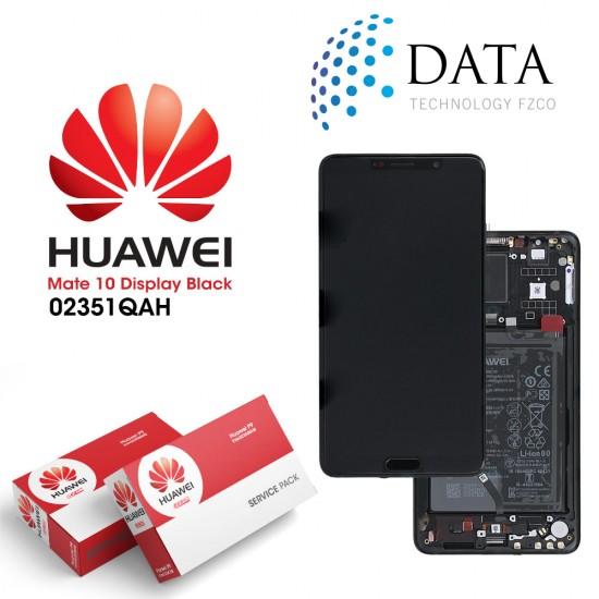 Huawei Mate 10 (ALP-L09, ALP-L29) -LCD Display + Touch Screen + Battery Black 02351QAH