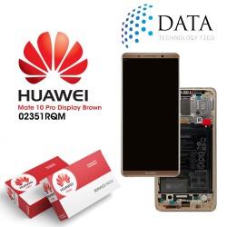 Huawei Mate 10 Pro (BLA-L09, BLA-L29) -LCD Display + Touch Screen + Battery Mocha Brown 02351RQM