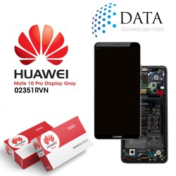Huawei Mate 10 Pro (BLA-L09, BLA-L29) -LCD Display + Touch Screen + Battery Titanium Grey 02351RVN