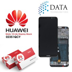 Huawei Mate 10 Lite (RNE-L01, RNE-L21) -LCD Display + Touch Screen + Battery Black 02351QCY