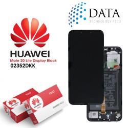 Huawei Mate 20 Lite (SNE-LX1 SNE-L21) -LCD Display + Touch Screen + Battery Black 02352DKK
