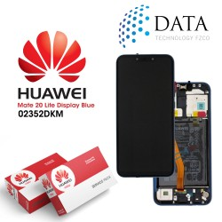 Huawei Mate 20 Lite (SNE-LX1 SNE-L21) -LCD Display + Touch Screen + Battery Sapphire Blue 02352DKM