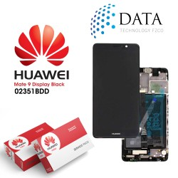 Huawei Mate 9 -LCD Display + Touch Screen + Battery Black 02351BDD