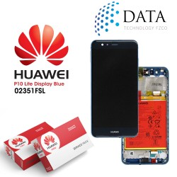Huawei P10 Lite (WAS-L21) -LCD Display + Touch Screen + Battery Blue 02351FSL