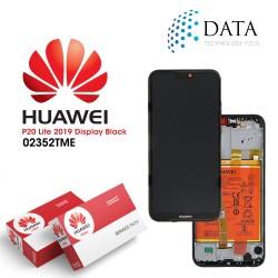 Huawei P20 Lite 2019 (GLK-L21) -LCD Display + Touch Screen + Battery Midnight Black 02352TME