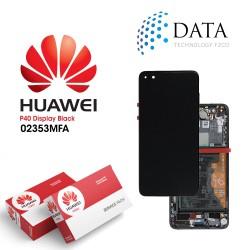 Huawei P40 (ANA-NX9 ANA-LX4) -LCD Display + Touch Screen + Battery Black 02353MFA