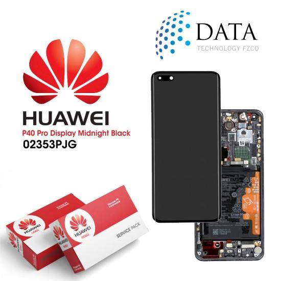 Huawei P40 Pro (ELS-NX9 ELS-N09) -LCD Display + Touch Screen + Battery Black 02353PJG