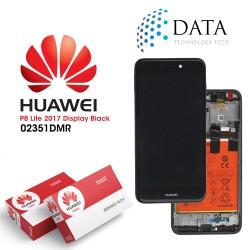 Huawei P8 Lite 2017 (PRA-L21) -LCD Display + Touch Screen + Battery Black 02351DYM