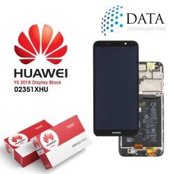 Huawei Y5 2018 (DRA-L22) -LCD Display + Touch Screen + Battery Black 02351XHU