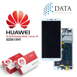 Huawei Honor 7S -LCD Display + Touch Screen + Battery - White - 02351XHT