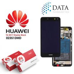 Huawei Y5 2017 (MYA-L22) -LCD Display + Touch Screen + Battery dark Grey 02351DMD