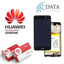 Huawei Y6 II (CAM-L21) -LCD Display + Touch Screen + Battery Black 02350XME