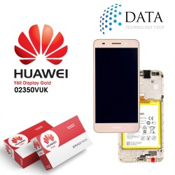 Huawei Y6 II 2016 (Honor 5A) -LCD Display + Touch Screen + Battery Gold 02350VUK