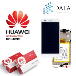 Huawei Y6 II (CAM-L21) -LCD Display + Touch Screen + Battery White 02350VRS