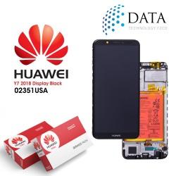 Huawei Y7 2018 (LDN-L01, LDN-L21) -LCD Display + Touch Screen + Battery Black 02351USA