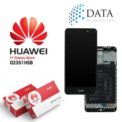 Huawei Y7 (TRT-L21) -LCD Display + Touch Screen + Battery Grey 02351HSB