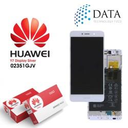 Huawei Y7 (TRT-L21) -LCD Display + Touch Screen + Battery White 02351GJV