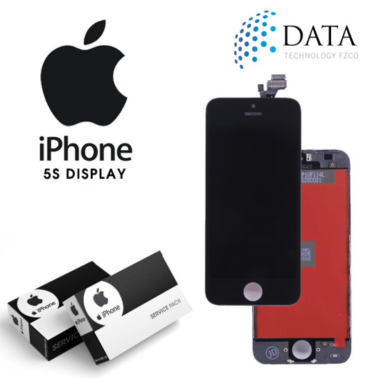 -LCD Display + Touch Screen Black for iPhone 5S