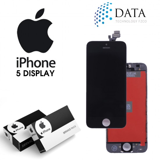 -LCD Display + Touch Screen Black for iPhone 5
