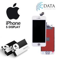 -LCD Display + Touch Screen White for iPhone 5