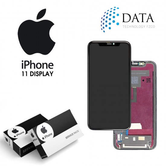 -LCD Display + Touch Screen White for iPhone 11