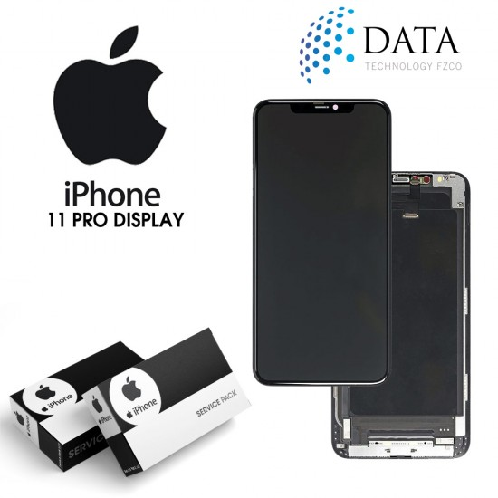 -LCD Display + Touch Screen Black for iPhone 11 Pro