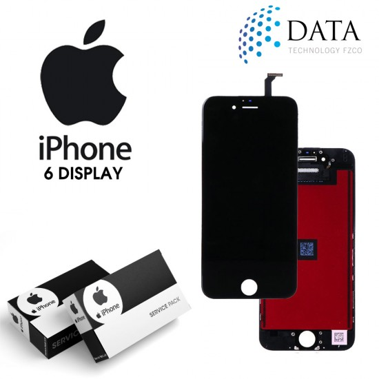 -LCD Display + Touch Screen Black for iPhone 6