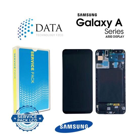Samsung Galaxy A5 (SM-A500F) -LCD Display + Touch Screen Black GH97-16679B