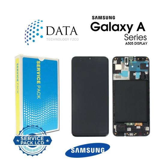 Samsung Galaxy A50 (SM-A505F) -LCD Display + Touch Screen Black GH82-19204A