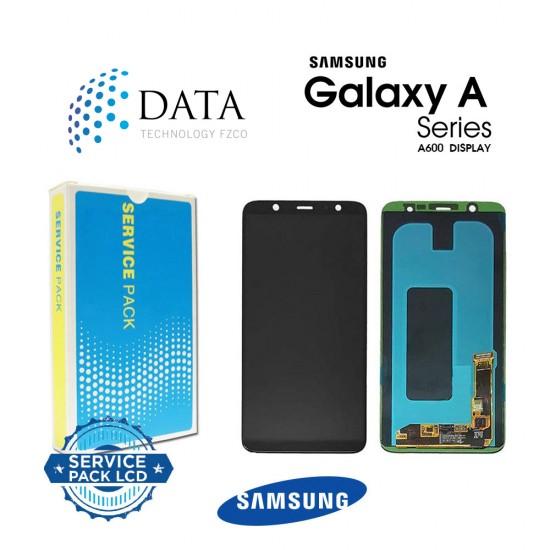 Samsung Galaxy A6 2018 (SM-A600FN) -LCD Display + Touch Screen Black GH97-21898A