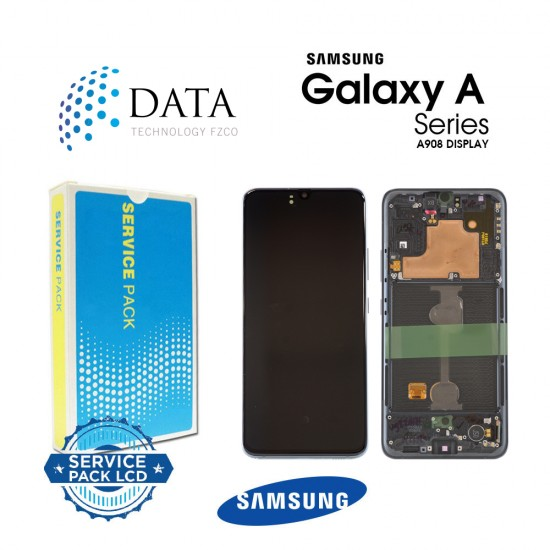 Samsung Galaxy A90 5G (SM-A908B SM-A908F) -LCD Display + Touch Screen Black GH82-21092A