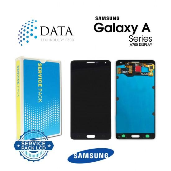 Samsung Galaxy A7 (SM-A700F) -LCD Display + Touch Screen Black GH97-16922B