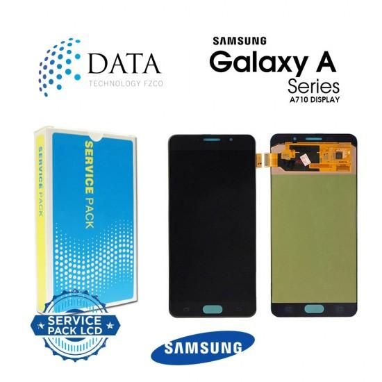 Samsung Galaxy A7 2016 (SM-A710F) -LCD Display + Touch Screen Black GH97-18229B