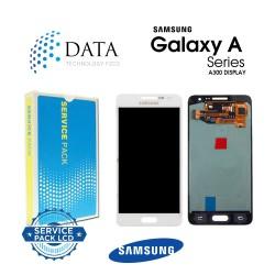 Samsung SM-A300 Galaxy A3 -LCD Display + Touch Screen - White - GH82-16747A