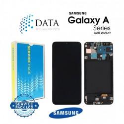 Samsung Galaxy A30 (SM-A305F) -LCD Display + Touch Screen Black GH82-19725A