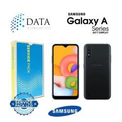 Samsung SM-A017 Galaxy A01s -LCD Display + Touch Screen Black