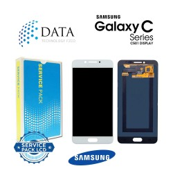 Samsung Galaxy C5 Pro (SM-C501F) -LCD Display + Touch Screen White GH97-20450A