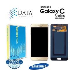 Samsung Galaxy C7 (SM-C700F) -LCD Display + Touch Screen Gold GH97-19135A