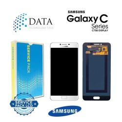 Samsung Galaxy C7 (SM-C700F) -LCD Display + Touch Screen Silver GH97-19135C