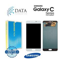 Samsung Galaxy C7 Pro (SM-C701F) -LCD Display + Touch Screen Black White GH97-19135A