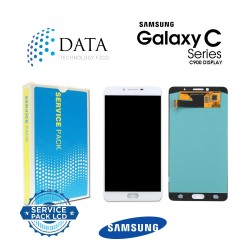 Samsung Galaxy C9 Pro (SM-C900F) -LCD Display + Touch Screen White GH97-19624A