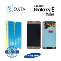Samsung Galaxy E5 (SM-E500F) -LCD Display + Touch Screen Gold GH97-17114B